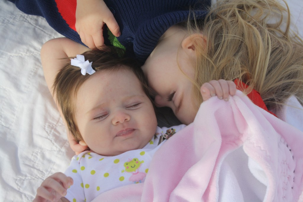 Such sisterly love!