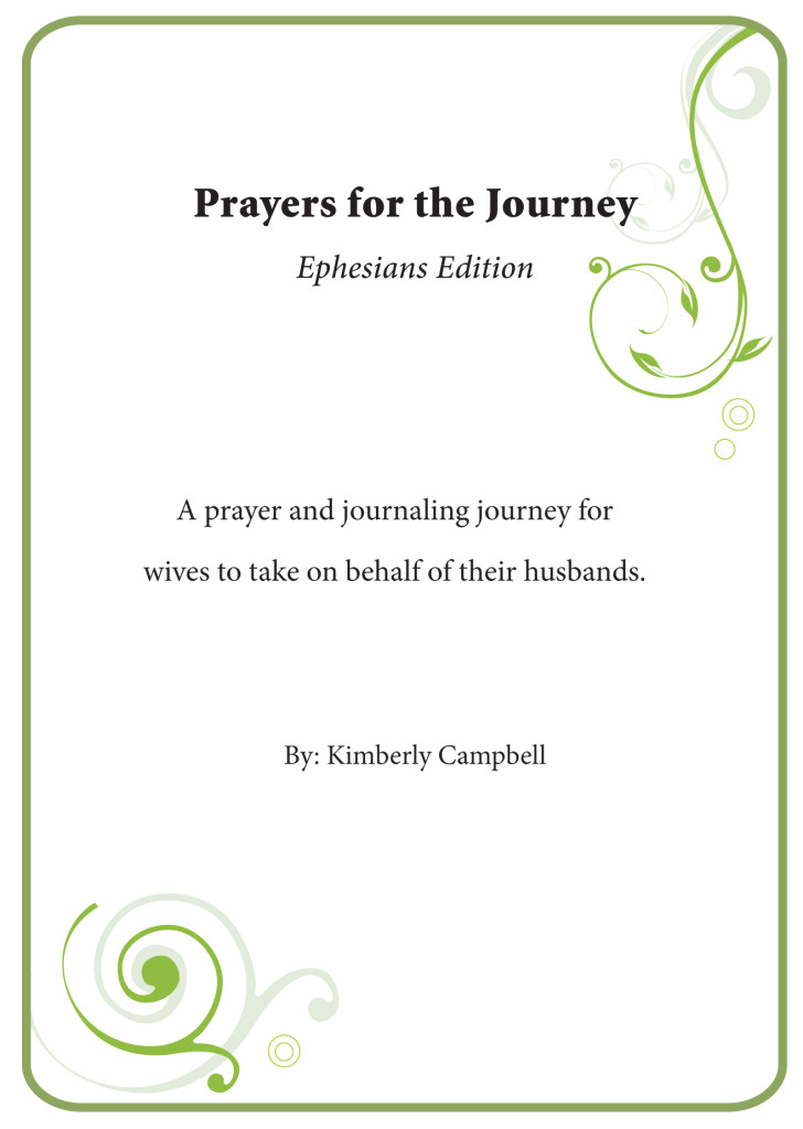 Prayers for the Journey - cover