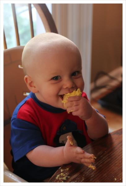 Sebastian's yellow cookie