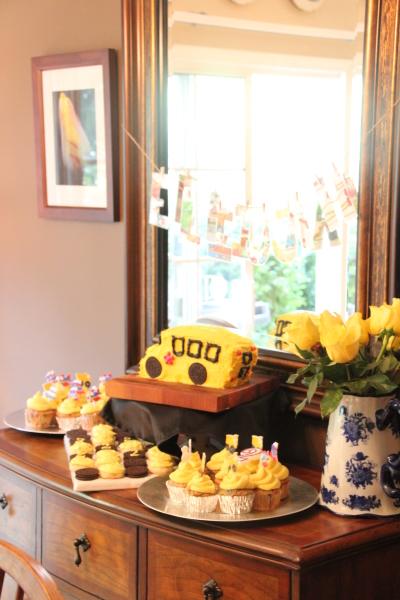 Elijah's yellow party