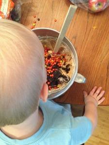 Elijah's first baking